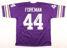 Chuck Foreman Signed Minnesota Vikings Jersey (JSA COA) NFL