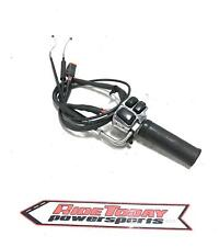 Harley-davidson Right Clip On Handle Kill Off Start Switch w/ throttle housing