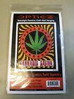 opticz blacklight reactive cloth wall hanging Cannabis Saliva