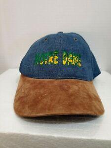 Ladies Hat Ball Cap Notre Dame Fighting Irish Adjustable Snap Back