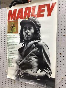 Bob Marley and the Wailers Original 1976 Tour Poster