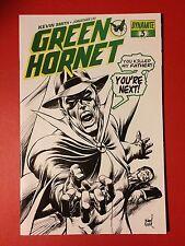"The Green Hornet #3 ""Death"" Michael Netzer Cover / Dynamite Comics NM"