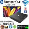 T9 4K TV Smart Set Top Box Media Player Android 8.1 Quad Core 4GB+32GB Netflix