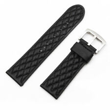 26mm Black Genuine leather Watch Band FOR INVICTA RESERVE COLLECTION VENOM 6110