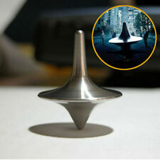 INCEPTION TOTEM ACCURATE SPINNING TOP ZINC ALLOY SILVER MAGNETIC Gyro Dice Kit