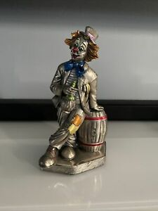MIDA ARGENTI TIPSY CLOWN HAND CRAFTED STERLING SILVER OVER RESIN ITALY*RARE*