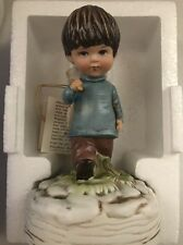 VINTAGE GORHAM MOPPETS 1973 YOU'VE CAPTURED MY HEART MUSIC BOX NEW