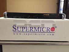 1U Supermicro QUAD LAN Xeon E3-1230v5 server KVM/IPMI 6GBps / 16GB / 250GB EVO