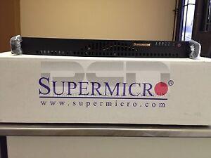 1U Supermicro QUAD LAN Xeon E3-1230v.6 server KVM/IPMI 6GBps / 16GB / 256GB SSD