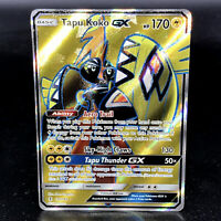 Tapu Koko GX - SM Guardians Rising 135/145 - Full Art Ultra Rare Pokemon Card