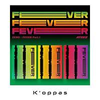 New ATEEZ [ ZERO : FEVER Part 1 ] 5th Mini Album CD+Photocard+Poster+Post card