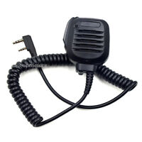 KMC-45 Speaker Microphone For BaoFeng UV-5R Kenwood TK-2000 TK-3000 WalkieTalkie