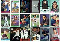 CLEVELAND INDIANS LOT 270 DIFFERENT CARDS, 60'S- 2018- /1976 ECK RC & 8 MANNY RC