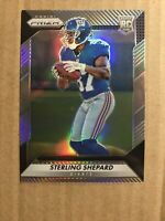2016 STERLING SHEPARD PANINI PRIZM SILVER REFRACTOR ROOKIE RC GIANTS #300