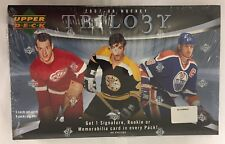 2007-08 Upper Deck Trilogy Factory Sealed Hockey Hobby Box