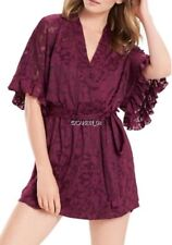 NEW JOSIE NATORI MOONLIGHT WRAP ROBE SIZE XL