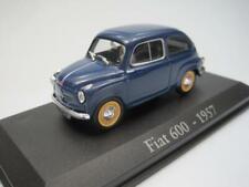 RBA Fiat 600 1957 + CAJA VITRINA  - IXO 1/43 Seat cochesaescala