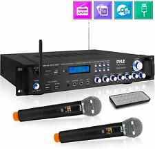 Pyle Bluetooth Home Audio Power Amplifier -4 Ch. 3000W, Stereo Receiver