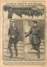 Maneuvers Tommies British Army Lord Kitchener & Sir Hugh Thomas Munro WWI 1915