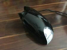 VW BEETLE CONVERTIBLE PASSENGER WING MIRROR WITH INDICATOR BLACK