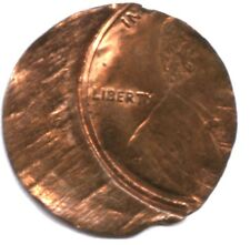 MAJOR LINCOLN CENT ERROR * WAFER THIN PLANCHET * UNIQUE ERROR TYPE !!