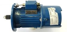 Elektromotor Drehstrommotor Motor Flansch 3~ 0,55kW 1500U/min + Bremse SIEMENS