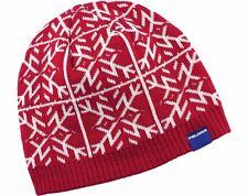 OEM Polaris Racing Red & White Snowflake Knit Beanie Winter Hat 2866193