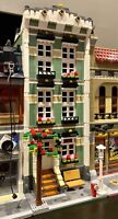 LEGO CUSTOM MODULAR BUILDING TOWN HOUSE fits with 10218 10246 10251 MOC 516 np