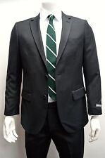 Men's Black Twill 2 Button Slim Fit Suit SIZE 40R NEW