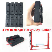 Rectangle Rubber Pads Block 115x25x80MM for 2 4 Post Auto Lift Car Repair Tools