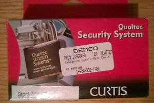 Curtis Qualtec 5' Putty Cable Eyeball Component #04115 Fits Anti-theft System