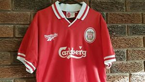 """Vintage Liverpool football shirt 1996. Size Youths . Chest approx 32"""""""