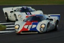 PHOTO  SILVERSTONE CLOSE STUFF AT LUFFIELD DURING THE FIA MASTERS HISTORIC SPORT