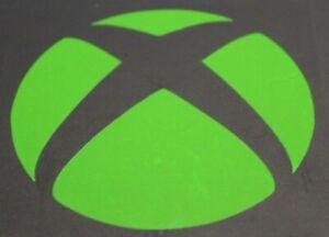 XBOX Logo Vinyl Sticker - Green - Game Console XBOX XBONE XB MS