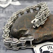 JJJ LA Zocalo Motorradketten Damen Armband  Handarbeit aus 925er Silber Harley