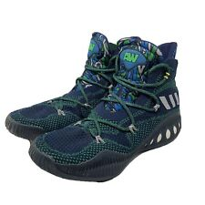 Adidas Men AW Crazy Explosive ANDREW WIGGINS Basketball Shoe NAVY BLUE Green S13