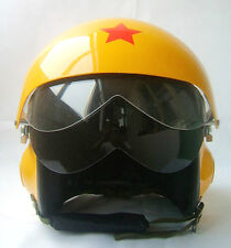 Neu Motorradhelm Rollerhelm Jethelme Luftwaffe Piloten Helm Gelb S M L XL