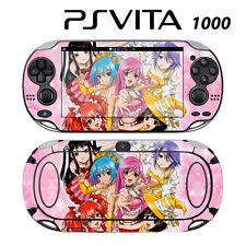 Vinyl Decal Skin Sticker for Sony PS Vita PSV 1000 Rosario + Vampire 2