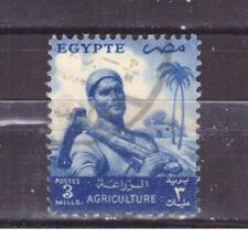 FRANCOBOLLI Egitto Egypt 1954-55 --- Serie Ordinaria 3 m. YV367