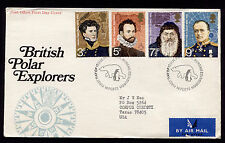 1972 Britain Edinburgh Polar Explorers Fdc