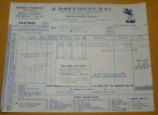 Ancienne facture Engrais chimiques J.Boucheny & Cie à Pithiviers (Loiret) 1959