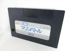 MSX MARINE BATTLE Cartridge only Import Japan Video Game msx