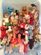 Ty Beanie Babies Lot of 31 All Retired Animals 1993 to 2002 3+ Boys Girls $29.99