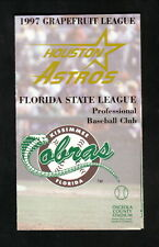 Kissimmee Cobras--1997 Pocket Schedule--with Houston Astros Spring Training