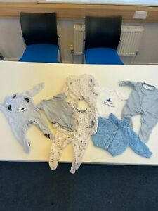BABY BOYS 0-3 MONTHS CLOTHING BUNDLE
