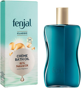 Fenjal Classic Luxury Creme Bath Oil, Cleanses and Nourishes Your Skin, 125 ml