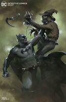 🦇🚨🔬 DETECTIVE COMICS #1027 DELL'OTTO Cover J Batman Scarecrow Variant NM