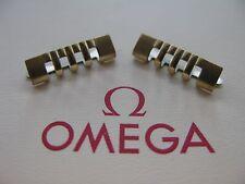 NOS OMEGA PLACCATO ORO no. 661 estremità pezzi / MAGLIE X 2 - IN NON USATO