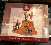 2003 Lemax Village Collection Enchanted Forest Christmas HAYSTACK HOLIDAY RARE