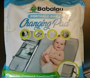 Babalou Baby Portable Changing Pad Compact Travel Multiple Pockets w/ Strap CB1